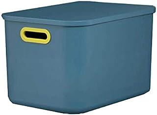 Lpiotyucwh Paniers et Boîtes De Rangement, Boîte de Rangement Boîte de Rangement avec Couvercle Toy Storage Panier Snack M...