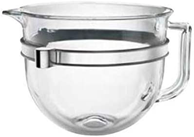 discount Stand new arrival Mixer outlet online sale Bowl - Glass - 6 QT KitchenAid online sale