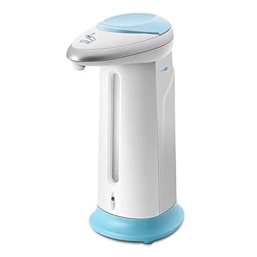 MUMUMI Dispensadores de Jabón, Dispensador de Jabón Dispensador de Jabón Automático sin Contacto Equipado Sensor de Movimiento Infrarrojo Interruptores para Cuartos de Baño,Azul