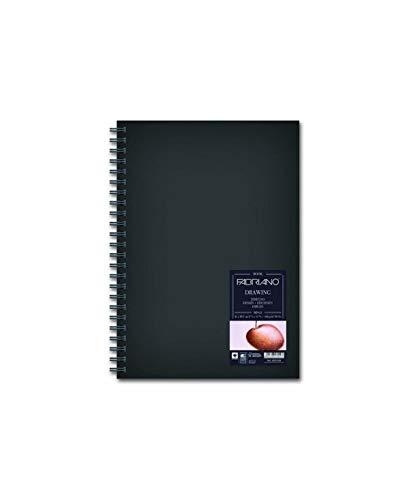 Fabriano Blocco Drawing Book Spirale Ritratto 14,8x21 160 Gr 60 Fogli Grana Naturale