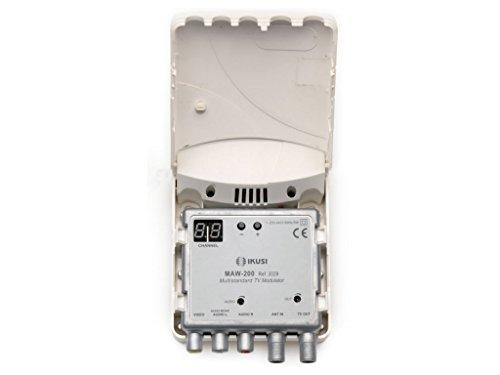 MODULADOR TV DBL BANDA VHF / UHF PARA INTERIOR DOMESTICO AV VHF-UHF IKUSI IK-MAW-200