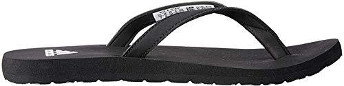 adidas Damen Eezay Flip Flop Dusch-& Badeschuhe, Schwarz (Negbas / Ftwbla 000), 37 EU