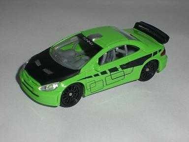 Norev Peugeot 307cc 307 Cc GrÜn Coupe WRC Tuning 3 inches 1/55 1/60 1/64 Modellauto Modell Auto