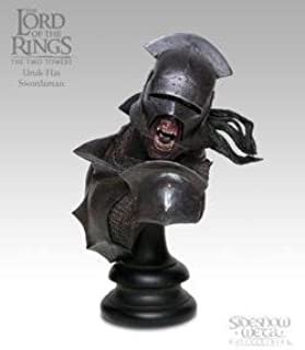 Lord of the Rings Uruk-Hai Limited Edition Polystone Bust Sideshow Weta