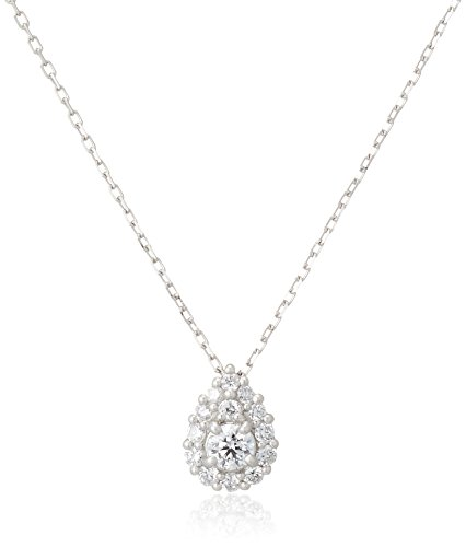 [VAヴァンドーム青山] ダイヤモンド 0.18ct プラチナ Pt900 ネックレス GPAN007743DI