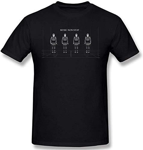 Ljkhas2329 Kraftwerk Men's Classic Tee Black L