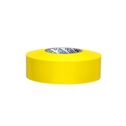 Presco PresGlo Taffeta Roll Flagging Tape: 1 in x 50 yds. (Neon Gelb)