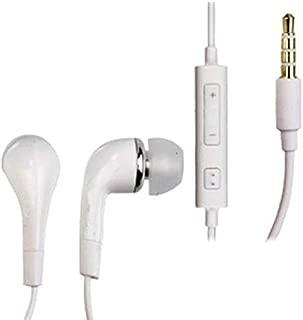 SAMSUNG WHITE HANDSFREE HEADSET HEADPHONES EARPHONES FOR GALAXY
