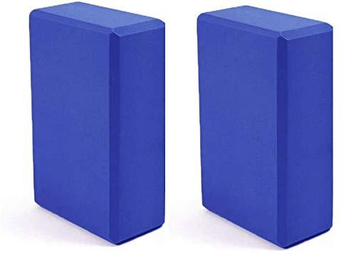 BUY4LESS - 2 Pcs Yoga Block Brick Foaming Foam Home Exercise Fitness Gym Sport Tool 225x 145x76 mm