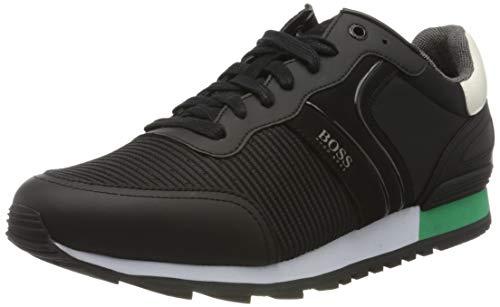BOSS Parkour_Runn_strb 10214663 01, Zapatillas para Hombre, Negro (Black 001), 43 EU