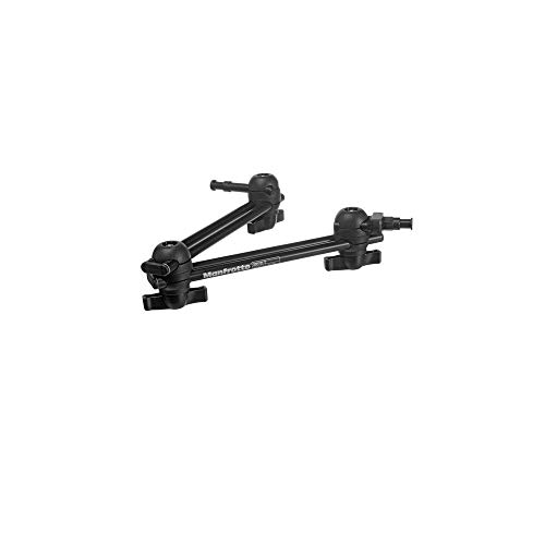 Manfrotto 396AB-2 2-Section Double Articulated Arm without Camera Bracket (Black)