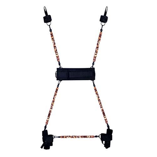 レジスタンスバンドセット保護スリーブ付きスタッカブルエクササイズバンドドアアンカーハンドル手動ホームワークアウトレジスタンストレーニング,300lb