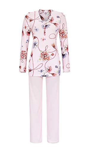La plus belle Damen Pyjama mit Knopfleiste ICY Orchid 52 9581203, ICY Orchid, 52