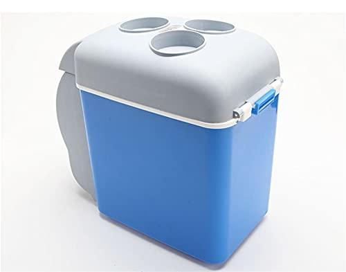ELAUK frigorifero portatile auto Electranics 7. 5L auto frigorifero 12V in blu multi-funzione portatile Geladeira per auto frigorifero per viaggi camper riscaldatore