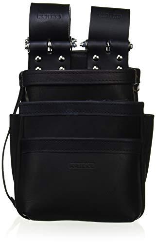 KNICKS(ニックス) KB-301SPDX 自在型チェーンタイプ総グローブ革3段腰袋(ブラック)