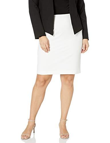 Calvin Klein Women's Skirt (Regular and Plus Sizes), Soft White, 4