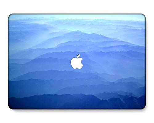 GangdaoCase Plastic Ultra Slim Light Hard Shell Case Cut Out Design for MacBook Air 11 Inch 11.6' A1370/A1465 (Light blue series 0516)