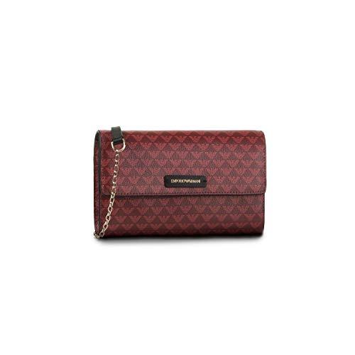 Armani Emporio Y3H186 YFH1A 83942 Bolsos bandolera Mujer Roja, 20,5 x 12,5...