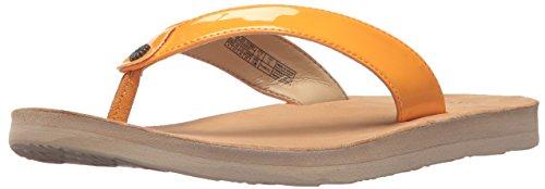 UGG Women's Tawney Flip-Flop, Orange Zinnia, 7 M US