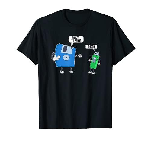 Ingeniero Informatico Computadora Programador Padre Regalo Camiseta