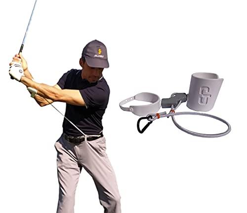 Jollino Golf Training Aid. Strumento Semplice, Facile e Portatile, per Migliorare Il Tuo Allenamento del Golf.
