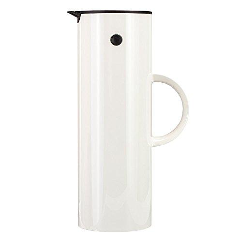 【Stelton】ステルトン  デンマーク製 ロングセラー! バキュームジャグ クラシック ジャグ 1L ホワイト ポット/保温器/魔法瓶 並行輸入品