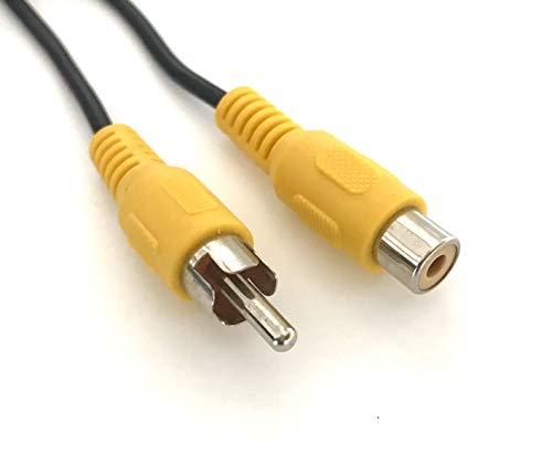 Access RCAケーブル 映像 延長ケーブル/コンポジット RCAピンプラグ-RCAジャック AV03 (100cm)