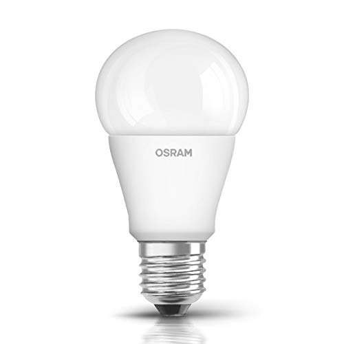 Osram LED Star Classic A Lampe, in Kolbenform mit E27-Sockel, nicht dimmbar, Ersetzt 75 Watt, Matt, Warmweiß - 2700 Kelvin, 1er-Pack