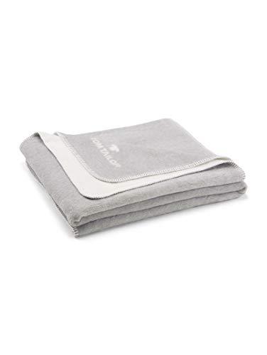 TOM TAILOR 0229938 Wohndecke Doubleface 1x 150x200 cm grey
