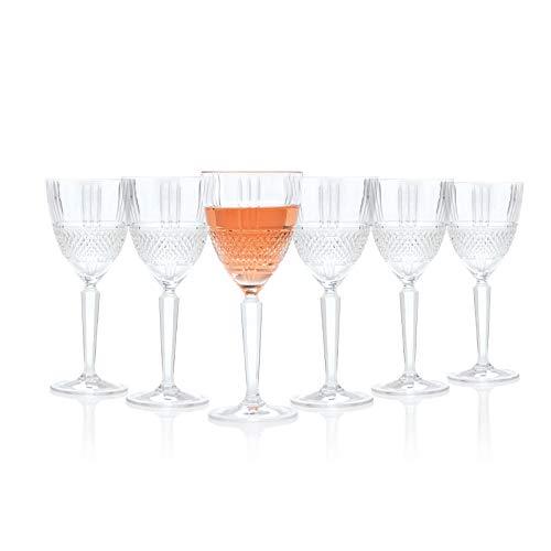 RCR 26966020006 - Bicchieri da vino rosso Brillante, 230 ml, 6...