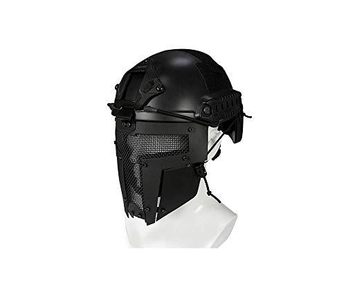 Máscara Protectora Para Toda La Cara Del Casco, Casco Táctico Al Aire...