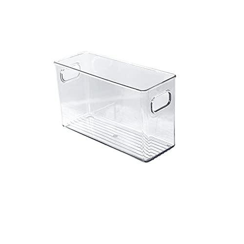 lefeindgdi Caja de almacenamiento transparente de Rrefrigerator tipo cajón para cocina, huevos, verduras