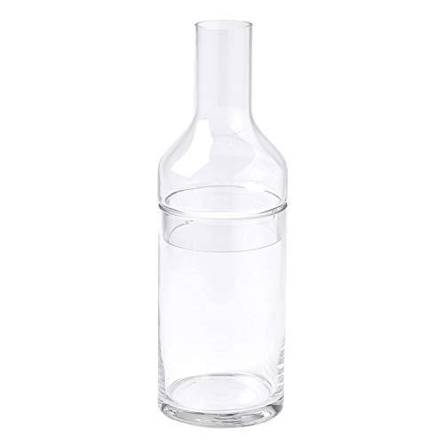 SPICE OF LIFE(スパイス) 花瓶 ボトルフラワーベース2WAY LABO GLASS クリア L(直径11×35cm) ガラス KEGY4093