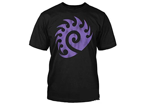 Starcraft II 2 Video Game Zerg Vintage Logo Shirt