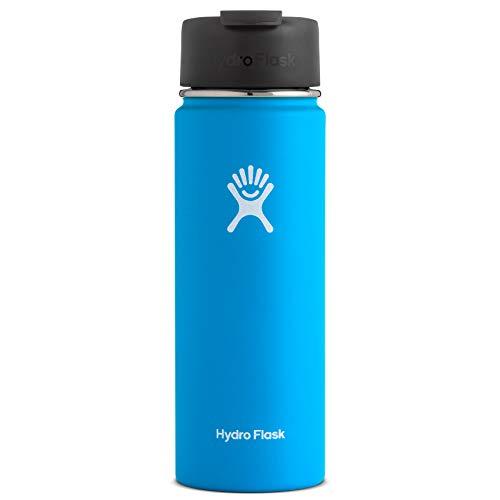 Hydro Flask ハイドロフラスコ Stainless Steel Water Bottle Wide Mouth w/Flip Cap [並行輸入品] (Pacific, 20-Ounce(591ml))