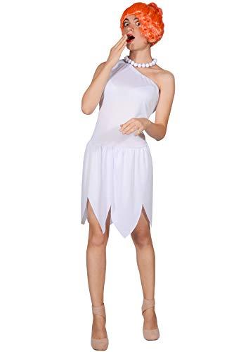 Ciao- Wilma Flintstones Costume Originale Donna (Taglia Unica Adulto), Colore, 11695