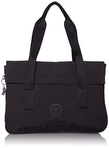 Kipling Bolso de hombro para portátil Perlani, Dazz Negro (Negro) - KI0446-093