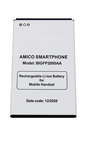 BATTERIA COMPATIBILE PER BRONDI AMICO SMARTPHONE BIGFP2000AA