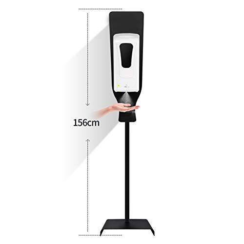 SAD Seifenspender Automatisch Alkohol Dispenser Bodenständer Station Nicht einstellbar 1000ML Touchless Universal Seifenspender für Büros Schulen öffentlicher Bereich,Spray