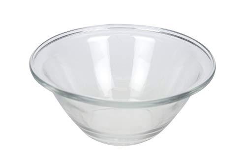 Bormioli 0418435 0418456 Saladier empilable en Verre Mr CHEF-26 cm, Transparent, D 26CM