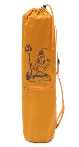 Yogistar Yogatasche Basic Shiva - Nylon - 65 cm - Safran