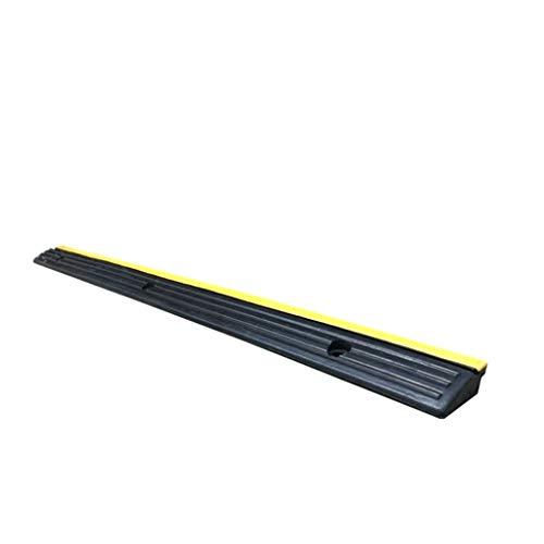 Rubberen Drempelklemmen, Huishoudelijke deurklemmen Effen Steady Ramps Woonwagen/Scooter Ramps/Afmetingen: 98 * 7,5 * 3 cm 98*7.5*3cm Zwart+geel