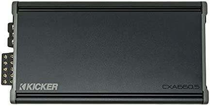 Kicker 46CXA6605 Car Audio 5 Channel Amp Speaker & Sub 1200W Amplifier CXA660.5