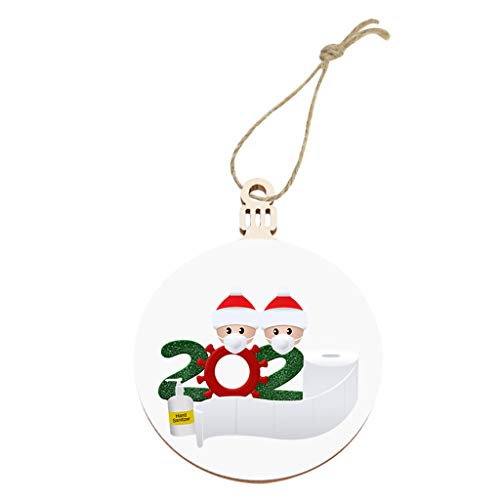 Christmass Ornament 2020 New Christmas Tree Decoration Lighted Pendant Faceless Old Man Pendant Home & Garden Decoration & Hangs