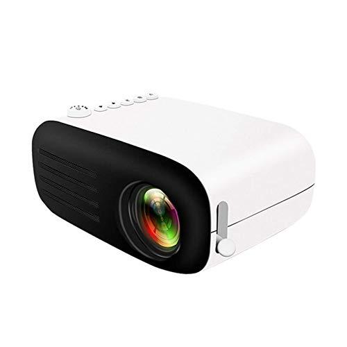 SHUNFENG-EU Mini proyector, proyector portátil LED, proyector de Bolsillo le da a los niños Regalo, HD 1080P HDMI admitido Conectado computadora portátil para niños