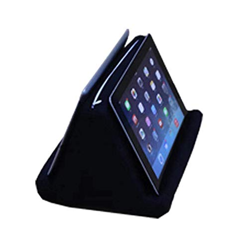 Tablet Pillow Stand,Portable Lightweight Tablet Wedge Pillow Tablet Sofa Tablet Pillow Portable Soft Triangle Tablet Stand for Phone Ipad (Navy Blue , OneSize)