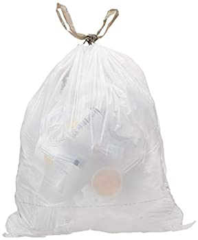 AmazonCommercial 13 Gallon Value Tall Kitchen Trash Bags - 0.78 MIL - 75 Count