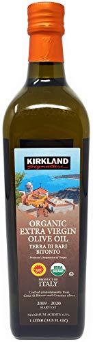 Kirkland Signature Organic Extra Virgin Olive Oil Terra Di Bari Bitonto