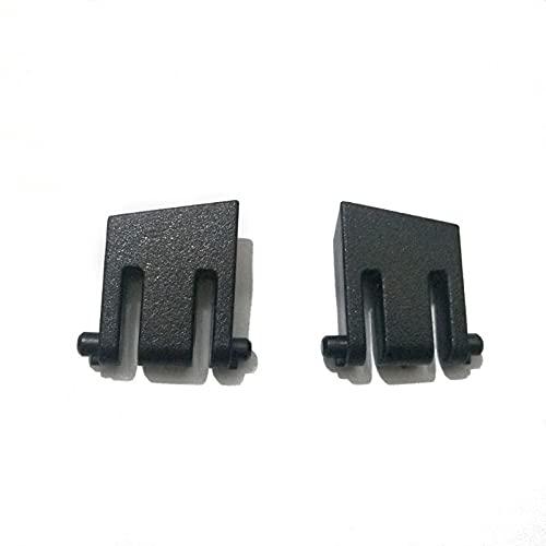 2-teilige Ersatz-Tastaturhalterung Bein Kunststoffständer für Corsair K65 K70 K63 K95 K70 LUX RGB Mechanische Gaming-Tastatur Reparaturteile Gaming-Maus Skate Fußpolster Gleitkurve Kantenaufkleber