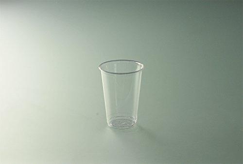 PUBLI EMBALL Sachet de 100 gobelets 20 cl transparent Biodég.en Polyactide H 9,6 cm D 7,03 cm